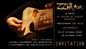 ZZHR 4tet en Concert @ ZZHR 4tet | Neuchâtel | Neuchâtel | Suisse