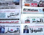 Retrouvez les titres de la presse arabe