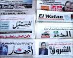 Retrouvez les titres de la presse arabe