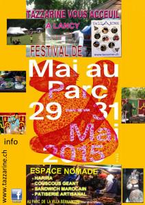 ESPACE NOMADE AU FESTIVAL DE MAI AU PARC 2015 @ Parc de la Villa Bernasconi | Grand-Lancy | Genève | Suisse