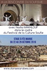 A la rencontre de la culture soufie - Stage de danse @ Festival de la culture soufie | Fes | Fes-Boulemane | Morocco