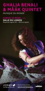 Ghalia Benali ¬ Mâäk Quintet @ Salle du Lignon | Le Lignon | Genève | Switzerland