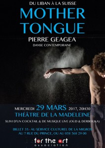 Mother Tongue - Pierre Geagea @ Théatre de la Madeleine | Genève | Genève | Switzerland