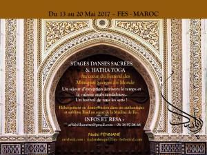 SEJOUR DANSES SACREES MAROCAINES ET HATHA YOGA A FES @ FES - MAROC | Fes | Fes-Boulemane | Morocco