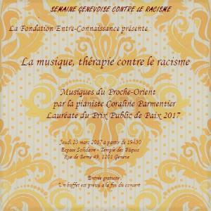 La musique, thérapie contre le racisme @ Espace Solidaire (Temple des Pâquis) | Genève | Genève | Switzerland