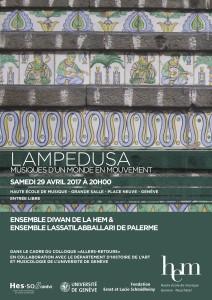 Lampedusa. Musiques d'un monde en mouvement @ Haute école de Musique, Grande Salle | Genève | Genève | Switzerland