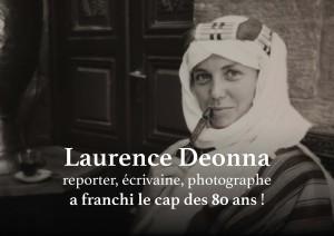 Laurence Deonna reporter, écrivaine, photographe a franchi le cap des 80 ans ! @ Salle des fêtes de la Mairie de Jussy | Jussy | Genève | Switzerland