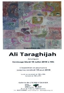 Vernissage de l'exposition de Ali Taghadijah (Iran) @ ICAM - L'Olivier | Genève | Genève | Switzerland