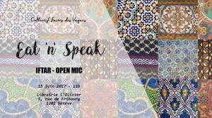 Soirée Eat'n'Speak @ ICAM - L'OLIVIER | Genève | Genève | Switzerland