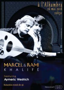 Concert de Marcel et Rami Khalife featuring Aymeric Westrich @ Salle de l'Alhambra | Genève | Genève | Switzerland