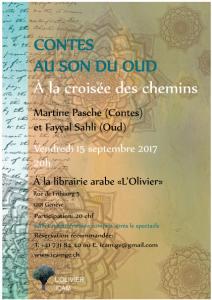 Contes au son du Oud - A la croisée des chemin @ ICAM - L'Olivier | Genève | Genève | Switzerland