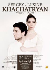 Récital de SERGEY et LUSINE KHACATRYAN @ Victoria Hall | Genève | Genève | Switzerland