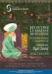 Découvrir la sagesse musulmane: Des fondements coraniques à l'enseignement soufi @ Maison des associations – Salle Mahatma Gandhi | Genève | Genève | Suisse