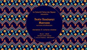 Rencontre avec Beata Umubyeyi Mairesse @ ICAM - L'Olivier | Genève | Genève | Suisse