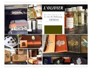 """Journée """"Idées cadeaux de Noël à l'Olivier""""  -15% sur tous nos produits @ ICAM-L'Olivier   Genève   Genève   Suisse"""