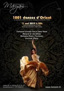 1001 Danses d'Orient @ Grande salle de la Chisaz
