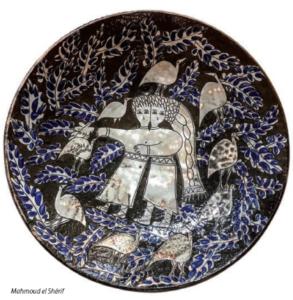 Céramiques de Fayoum - Evelyne Porret @ GALERIE MARIANNE BRAND