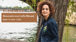Rencontre avec Leïla Slimani | #fifdh19 @ Salle communale de Plainpalais