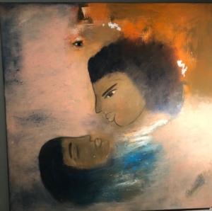 Vernissage de l'exposition de l'artiste MAYSOON BAKIR / accompagnement au OUD/LUTH par Ahmed Khorshid @ ICAM-L'Olivier | Genève | Genève | Suisse