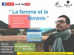 La Femme et le Féminin dans les sources scripturaires spirituelles de l'Islam @ Espace Turquoise | Chêne-Bourg | Genève | Switzerland
