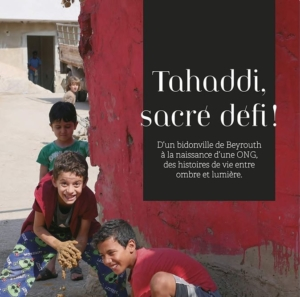 """Rencontre virtuelle avec Agnès Sanders autour du livre """"Tahaddi, sacré défi"""" @ Facebook - Site de l'ICAM cette page"""
